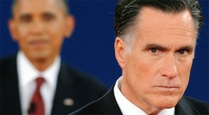 King Romney appears angry with his subjects
