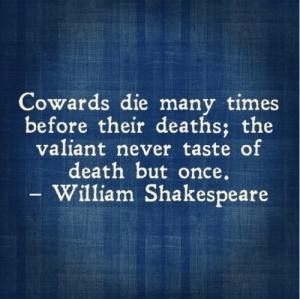 cowards